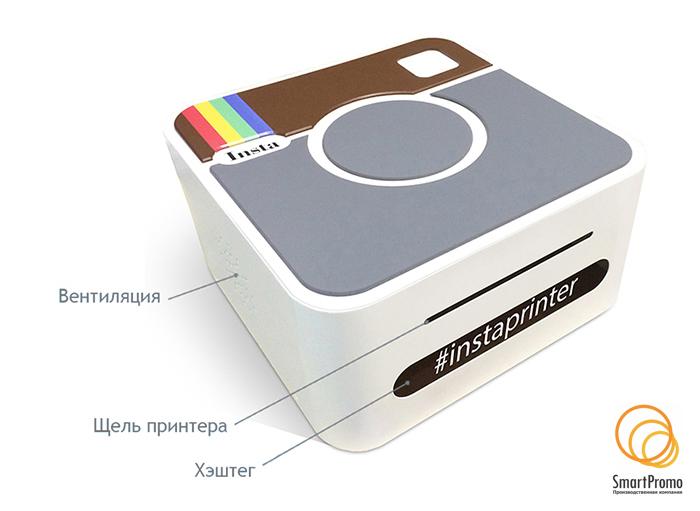 ИнстаПринтер ПРО — вид спереди