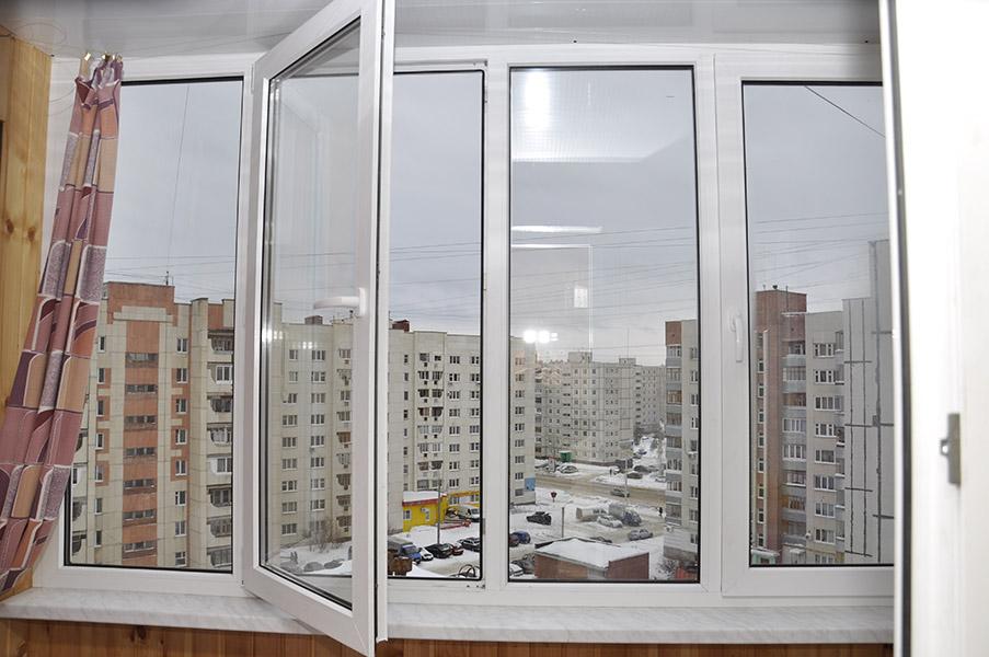 Обшивка балкона и лоджии.