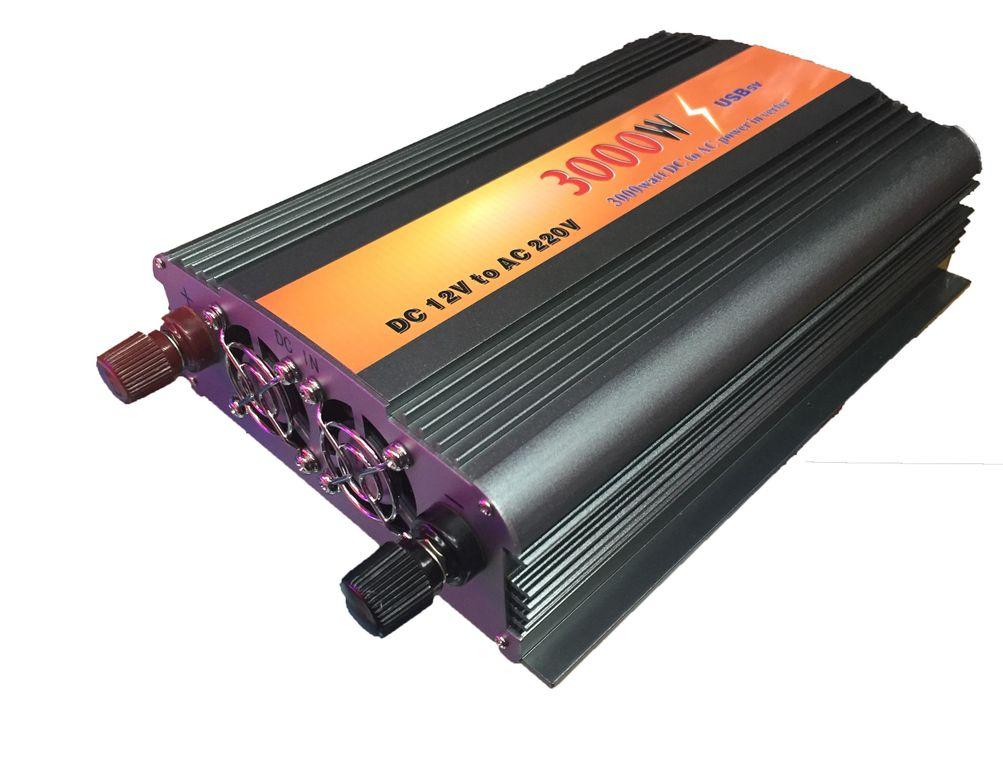 Преобразователь напряжения 12 220 V в авто до 5000 W (автоинвертор) В наличии