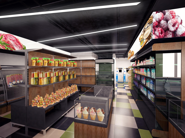 Дизайны минимаркетов