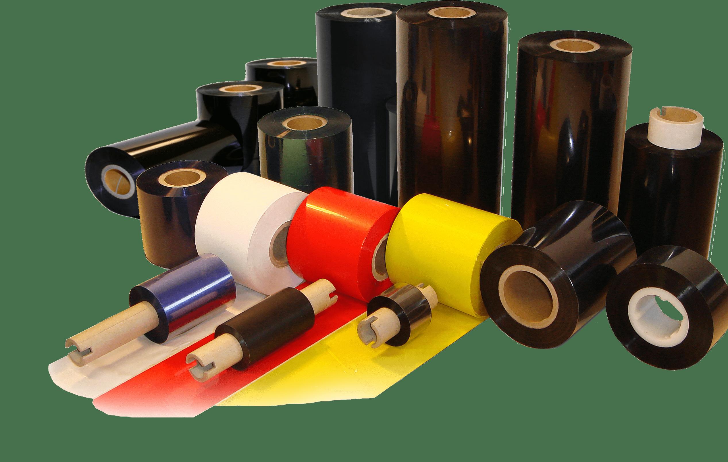 Как выбрать красящую ленту для печати самоклеящихся этикеток