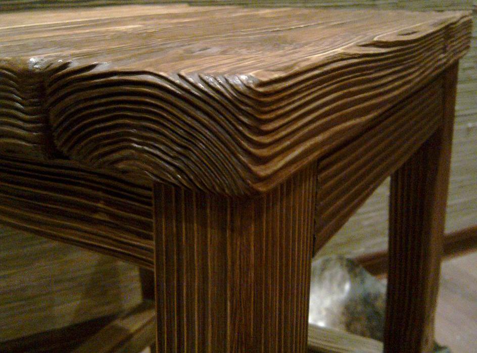 Мебель брашированная своими руками