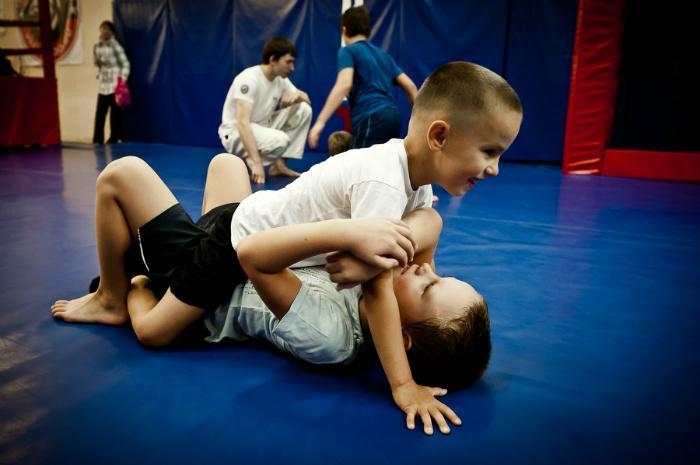 чем может помочь занятия самбо мальчику Джо