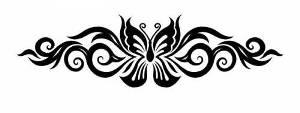 узорная бабочка 1