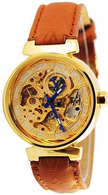 Женские часы Louis Vuitton, качественные брендовые часы на вашей руке, разработаны лучшими швейцарскими мастерами чтобы подчеркнуть ваш безупречный стиль, механические с ремешком из натуральной кожи