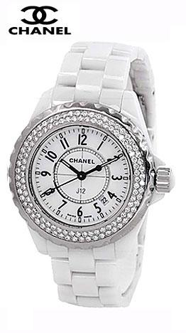 Женские часы Chanel, элегантные часы со стразами подчеркнут вашу утонченность, а также в наличии керамические женские  часы Chanel  белые и черные