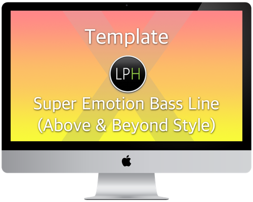 Super Emotion Bass Line (Above & Beyond Style)