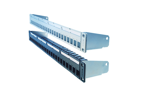 Patch panels and other networking equipment
