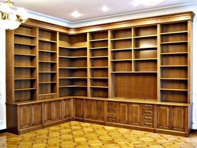 Домашняя библиотека на заказ - интерьер и мебель для библиот.