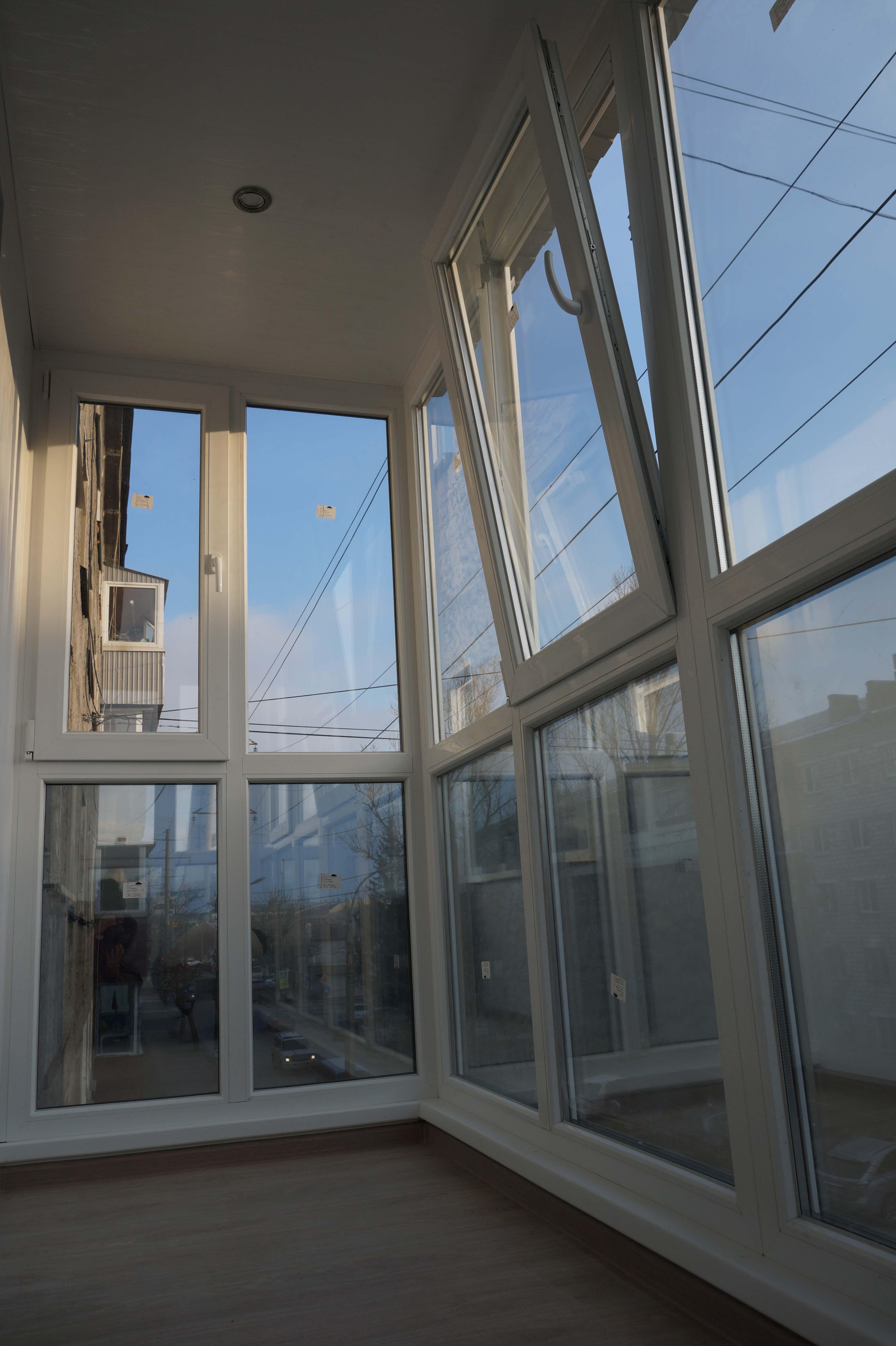 """""""французское"""" остекление балконов. строительство и ремонт. у."""