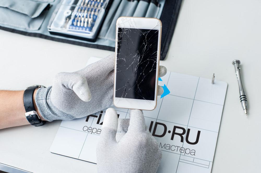 процесс ремонта iPhone 6