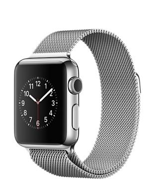 Apple Watch, нержавеющая сталь, миланский сетчатый браслет