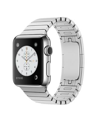 Apple Watch, нержавеющая сталь, блочный браслет