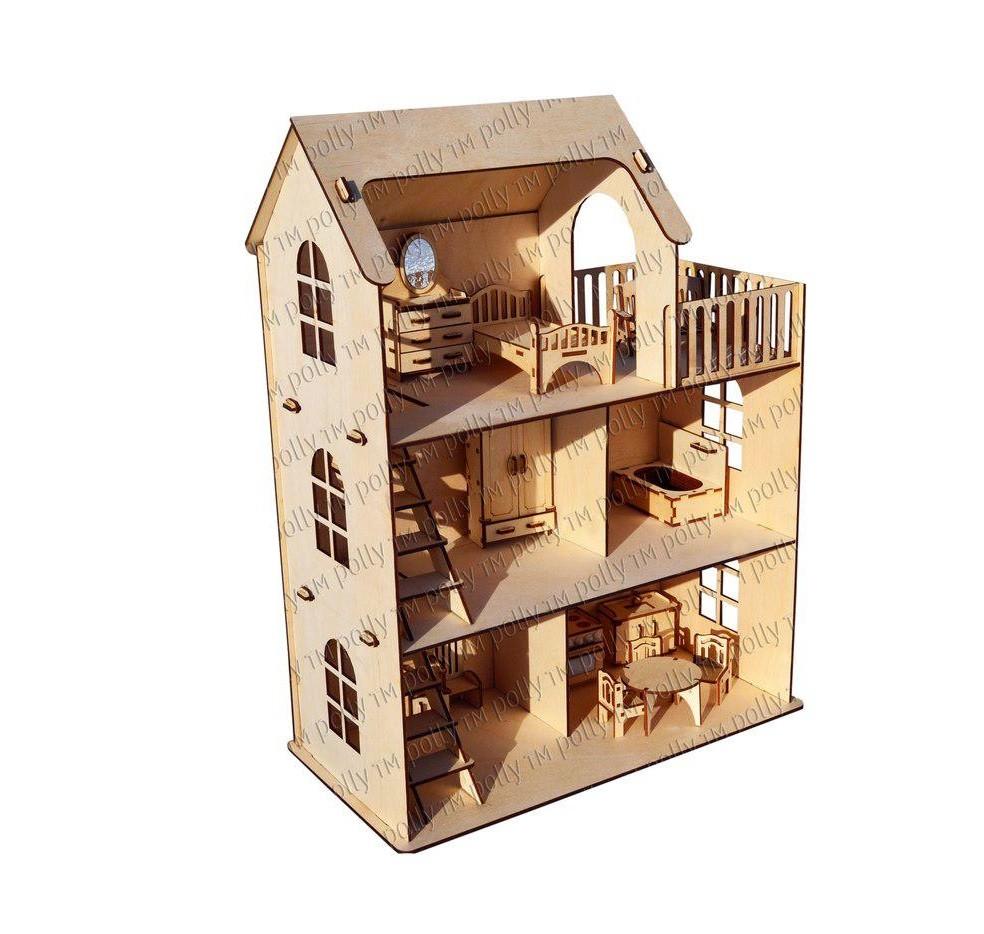 Кукольный домик Эко дом