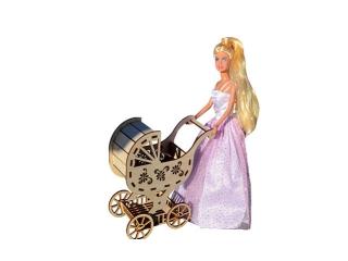 Детская коляска для кукол Барби, Монстер Хай и Винкс
