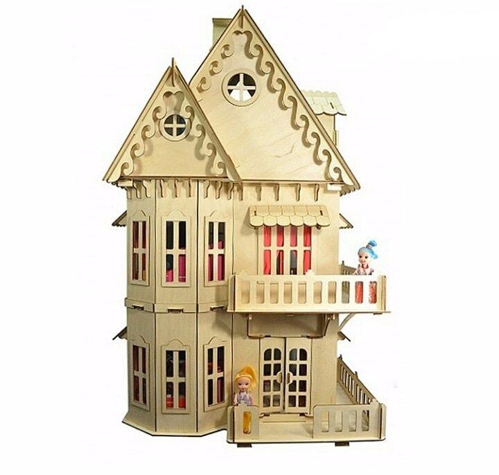 Кукольный домик плюс мебель