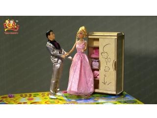 "Мебель для Барби Дома ""Чудо-шкаф"""