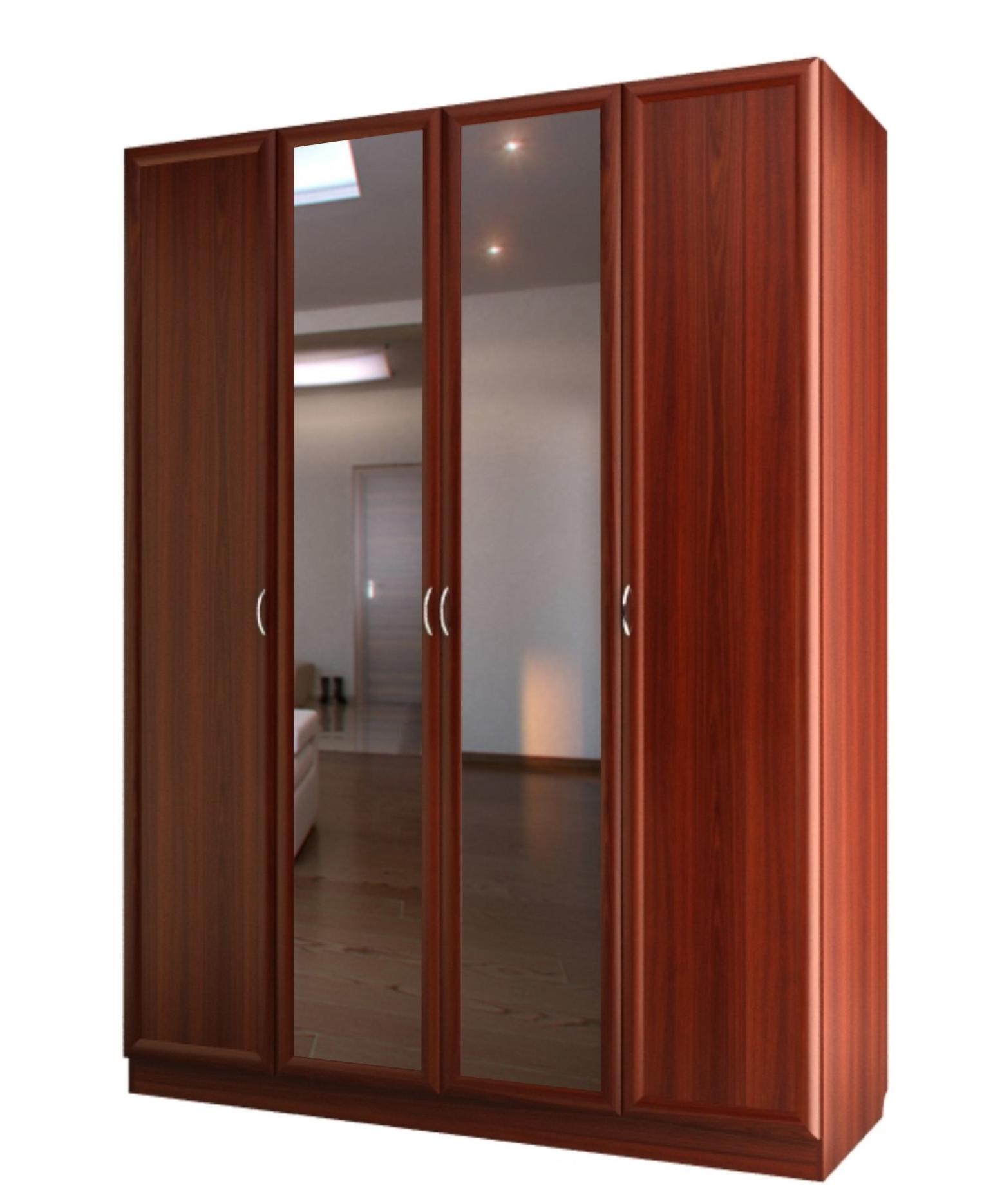 Шкаф четырехдверный с двумя зеркалами с 200/1 м валдай купит.