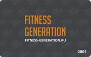 Пластиковая карта Fitness
