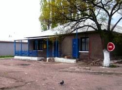 Вид здания почты в Ждановке