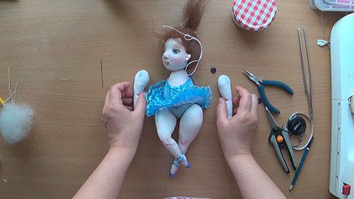 Грунтовка для текстильной куклы своими руками 3