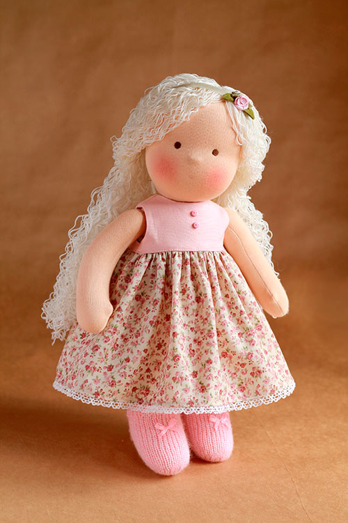 """My dream doll"""" Step by step detailed teaching video course"""