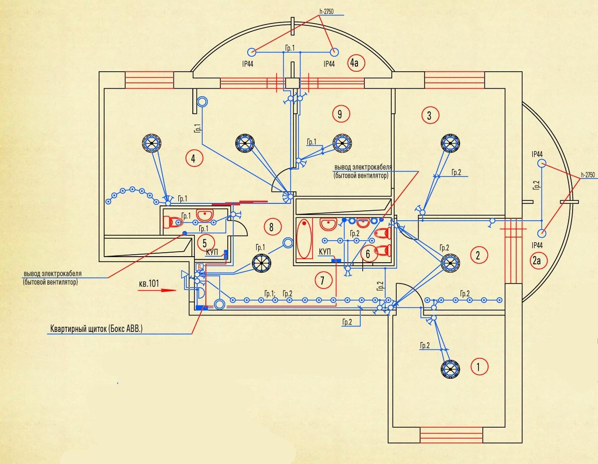типовые схема электроснабжение дом коттедж