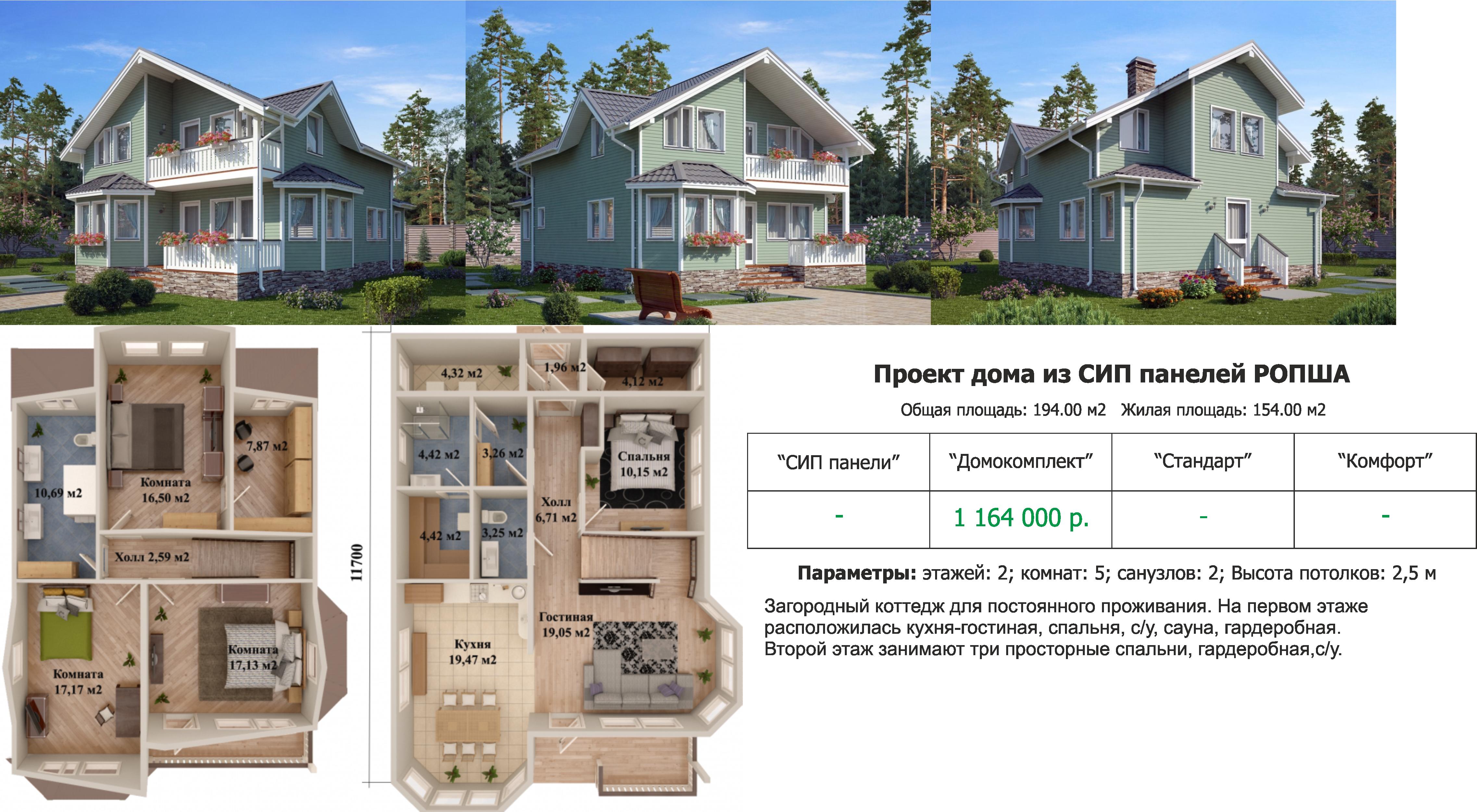 Построить дом из сип панелей проекты