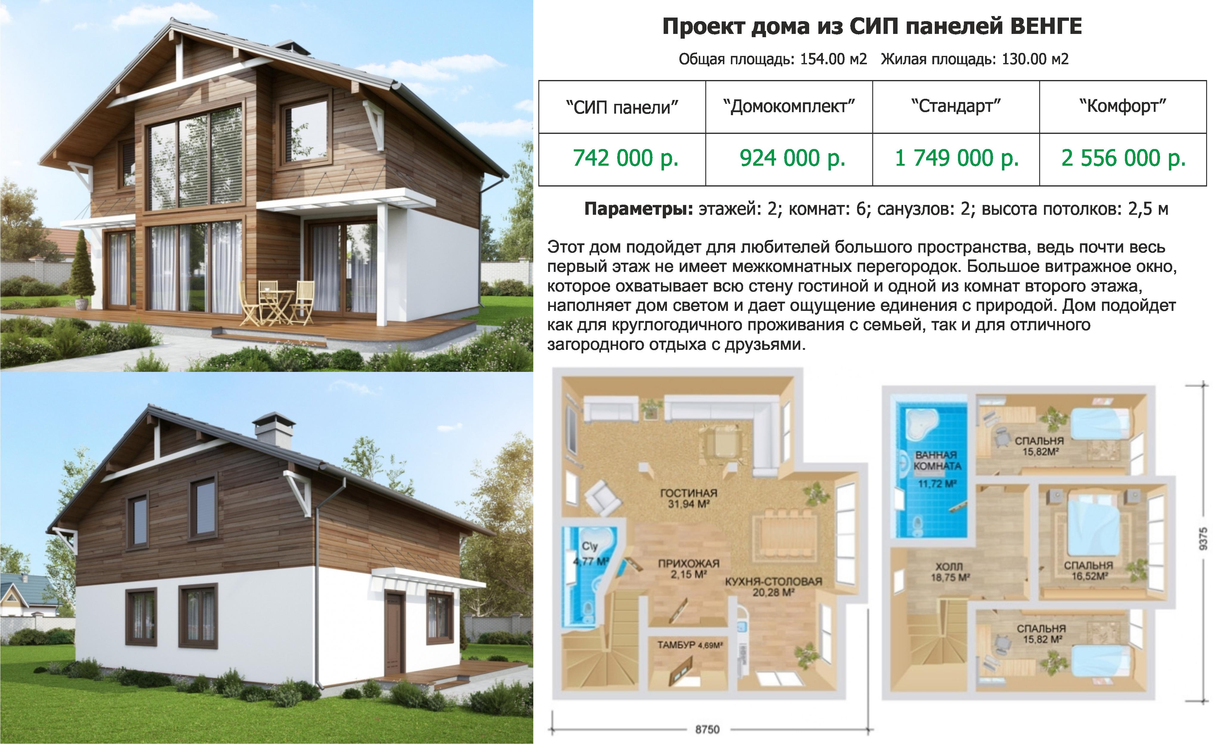 проекты домов из сип панелей самара обзор фирм-производителей