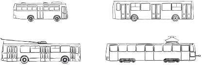 реклама на городском транспорте