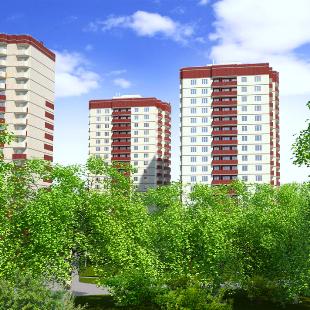 Микрорайон А11 на Ильфата Закирова Ижевск