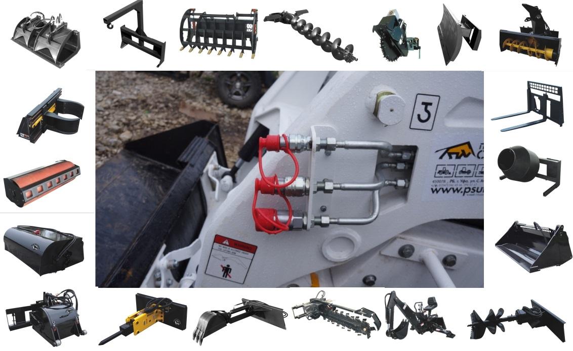 минипогрузчик Polar Wolverine (FORWAY) навесное оборудование