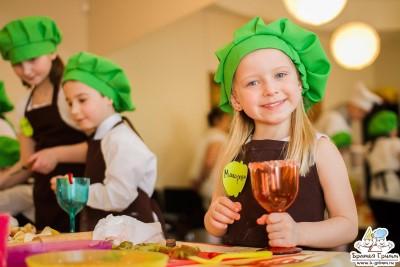 Сложный кулинарный мастер-класс для детей