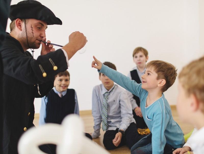 Праздник с пиратом