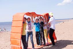 Спортивный тимбилдинг для детей