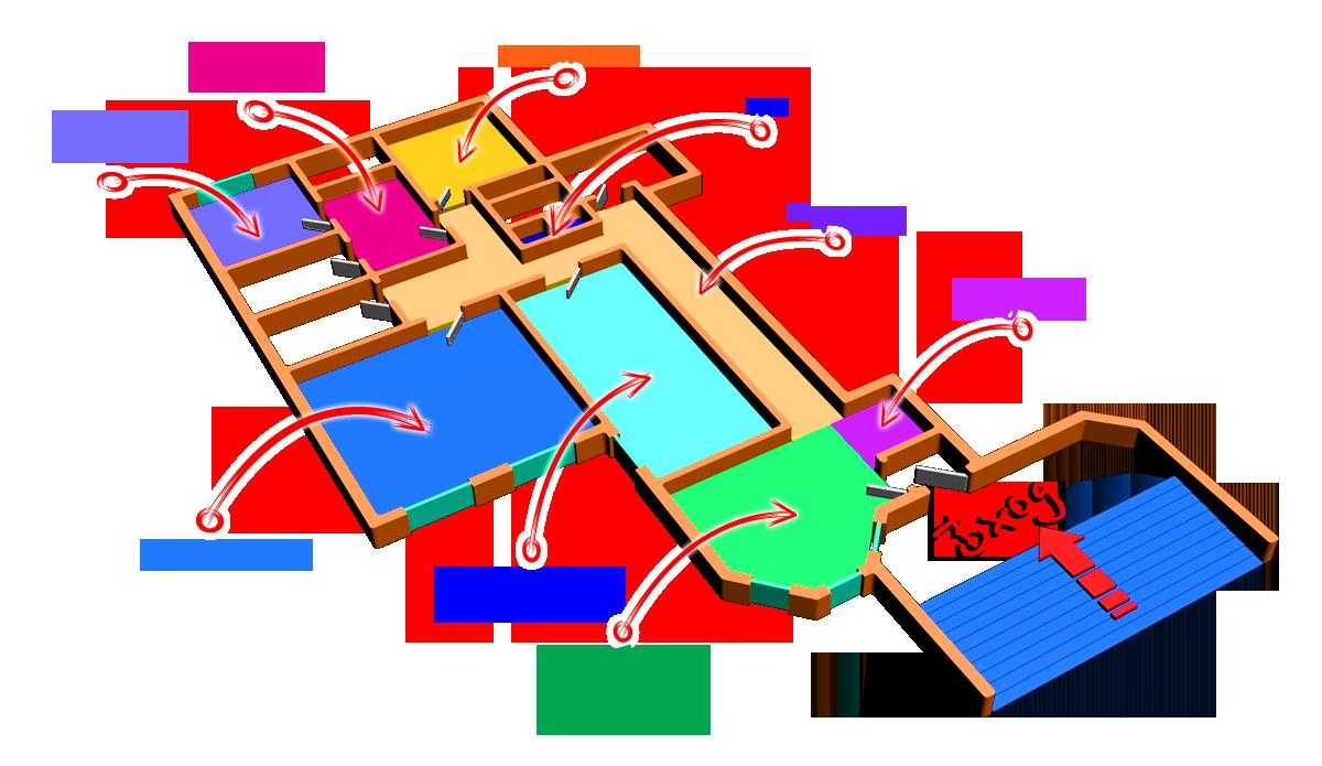 Схема помещения Дом Гримм