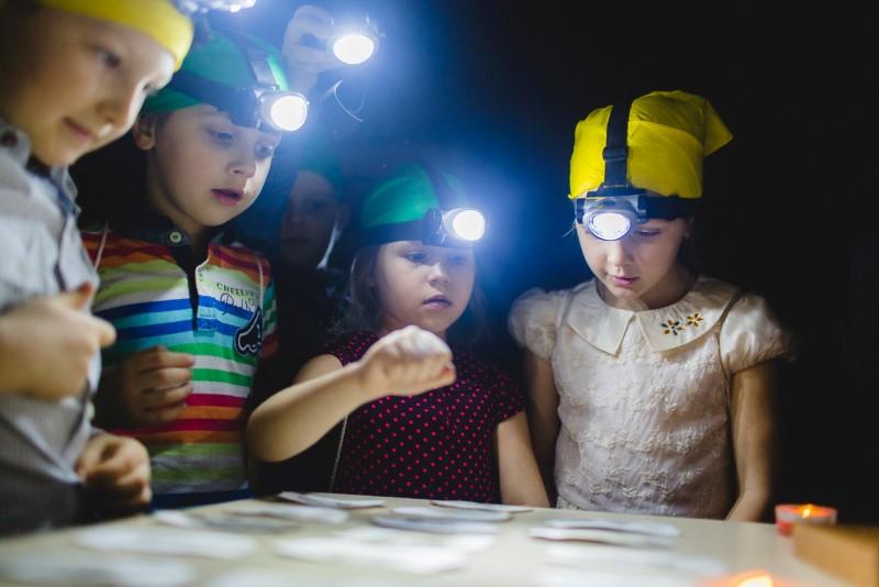 Археологи детский праздник