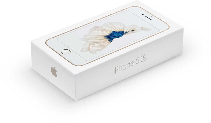 Apple iPhone 6s коробка