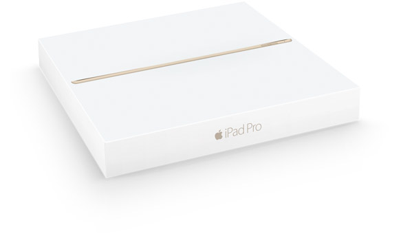 Apple iPad Pro комплект