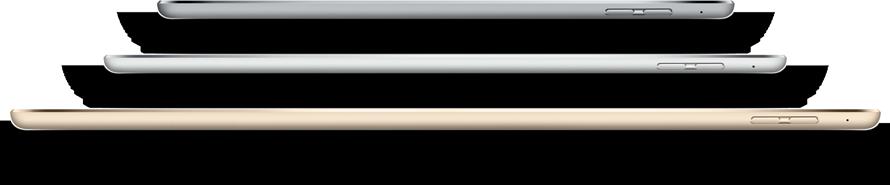Сравнение моделей iPad