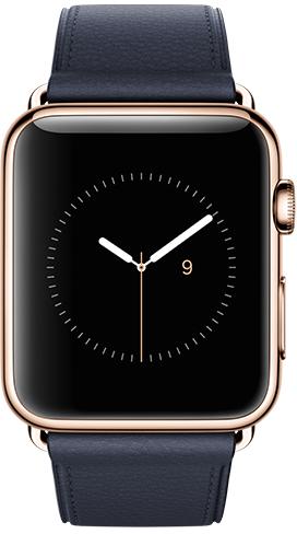 Apple Watch Edition 42mm Red Gold MLE52, Эппл Вотч Едишен 42мм Красное Золото MLE52