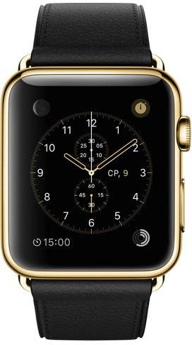 Apple Watch Edition 42mm Gold MLFH2, Эппл Вотч Едишен 42мм Золотые MLFH2