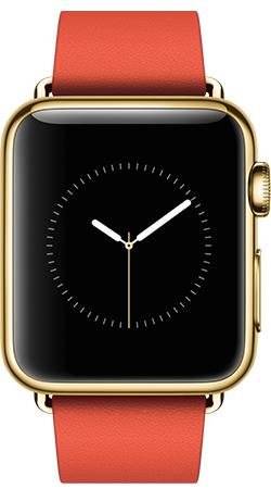 Apple Watch Edition 38mm Gold MJ3J2, Эппл Вотч Едишен 38мм Золотые MJ3J2