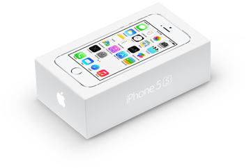 Apple iPhone 5s коробка