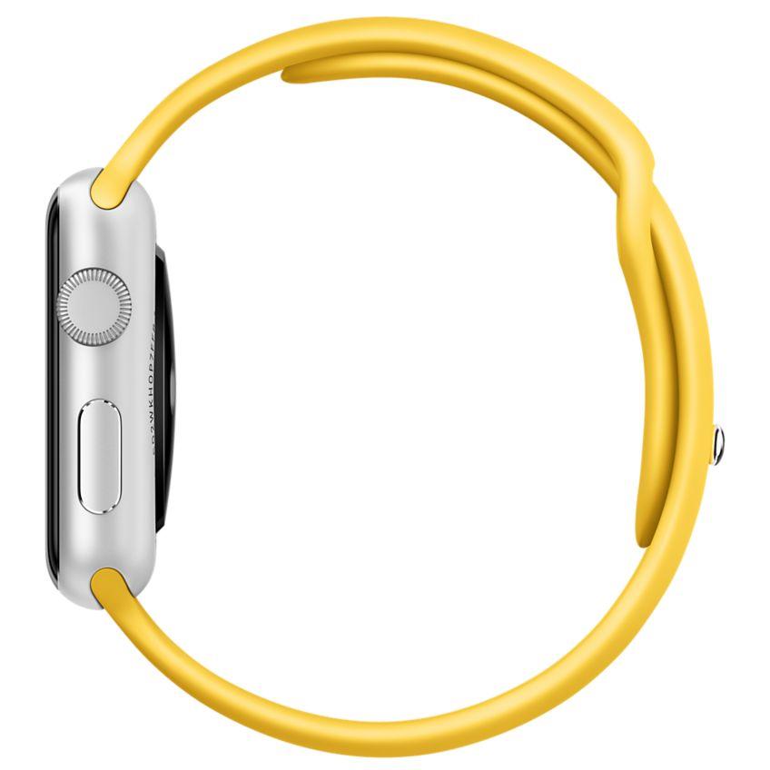 Apple Watch Sport 38mm Silver with White Sport Band (MJ2T2), Эппл Вотч Спорт 38мм Алюминевые с белым спортивным ремешком (MJ2T2)