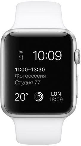 Apple Watch Sport 42mm White MJ3N2, Эппл Вотч Спорт