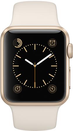 Apple Watch Sport 38mm Gold MLCJ2, Эппл Вотч Спорт 38мм Золотые MLCJ2