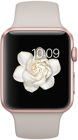 Apple Watch Sport 42mm Rose Gold MLC62, Эппл Вотч Спорт 42мм Розовое золото MLC62