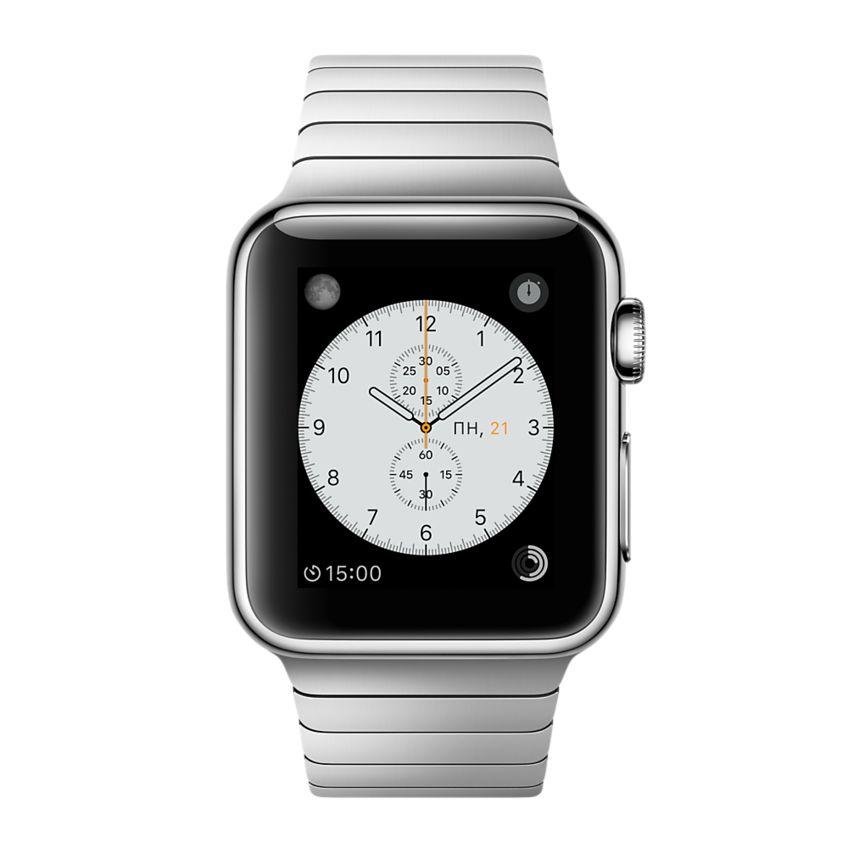 Apple Watch 38mm Link Bracelet MJ3E2, Эппл Вотч 38мм Блочный браслет MJ3E2