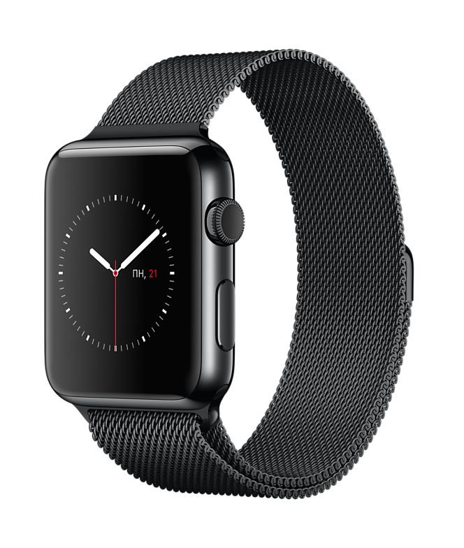 Apple Watch 42mm Leather, Эппл Вотч 42мм Кожаный ремешок